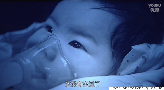 china pollution children