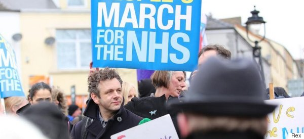 Michael Sheen's Blistering NHS Speech Will Bring You To Your Feet