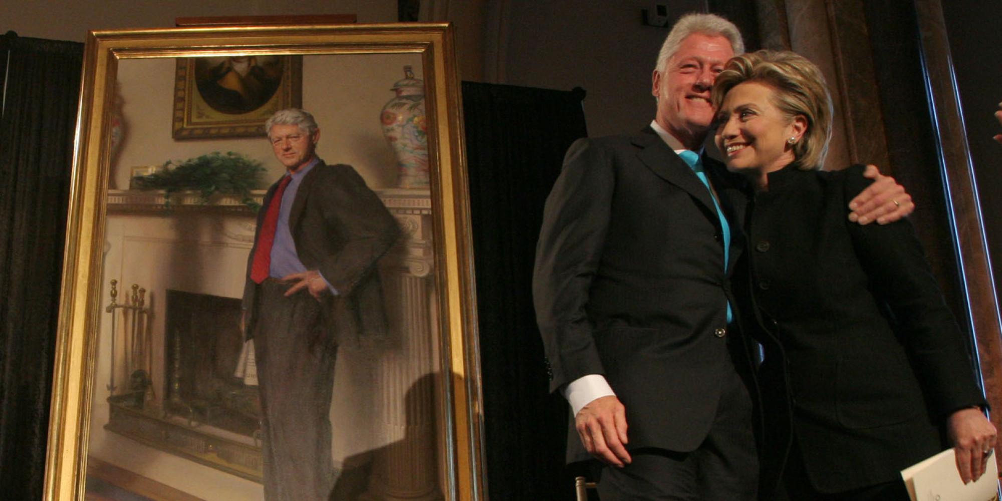 Bill Clinton S Portrait Includes A Nod To Monica Lewinsky