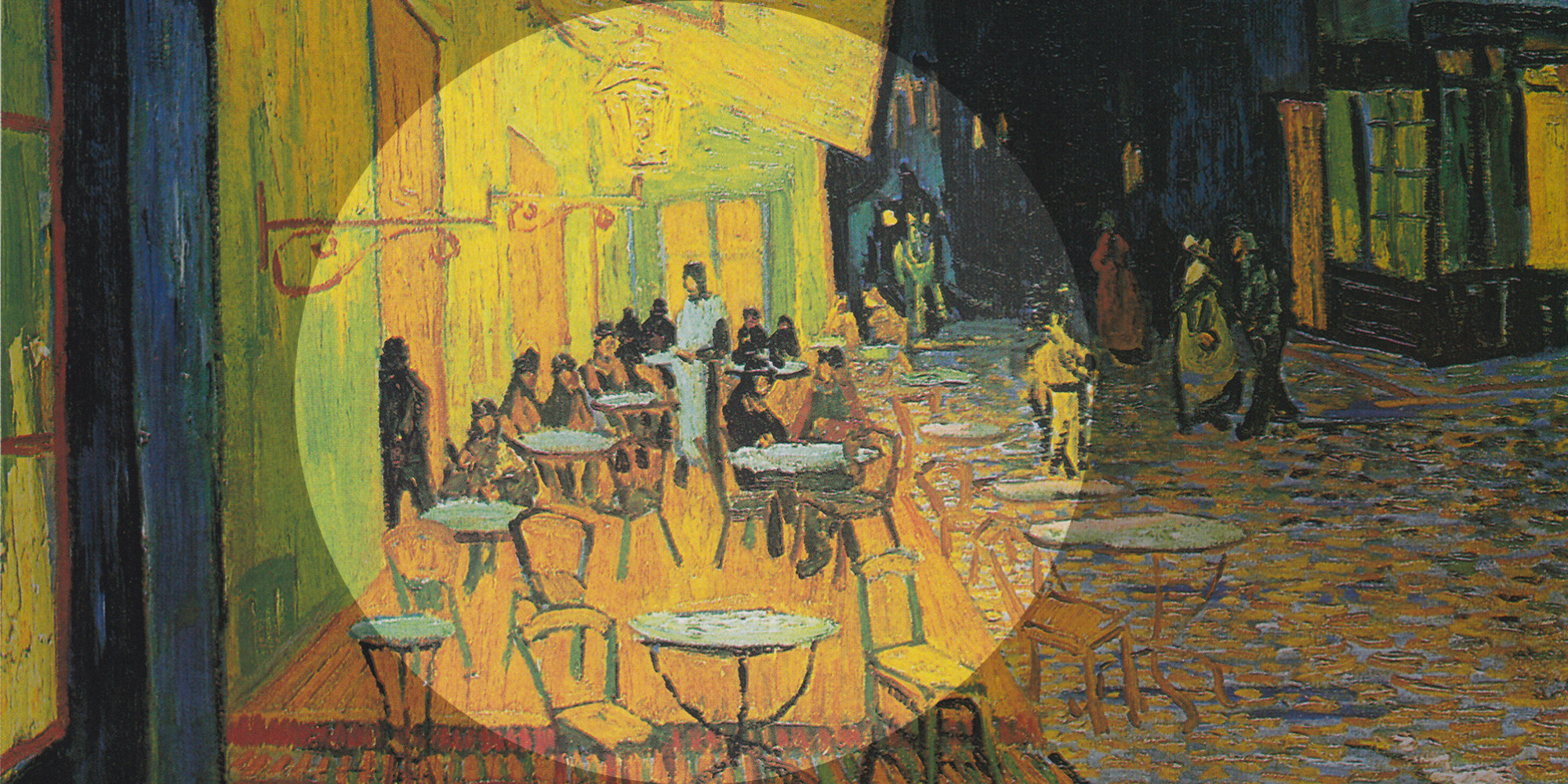 Famous cafe painting - Vincent Van Gogh May Have Hidden The Last Supper Within One Of His Most Famous Paintings Huffpost