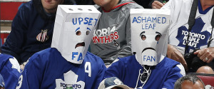 MAPLE LEAFS FANS BAGS