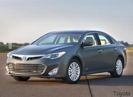 Toyota Avalon Híbrido 2015: Elegancia y eficiencia (Prueba de Manejo)