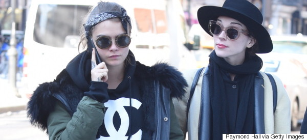 Is This Cara Delevingne's New Girlfriend?