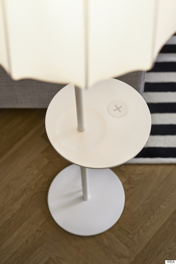 ikea 39 s new furniture will charge your phone huffpost. Black Bedroom Furniture Sets. Home Design Ideas