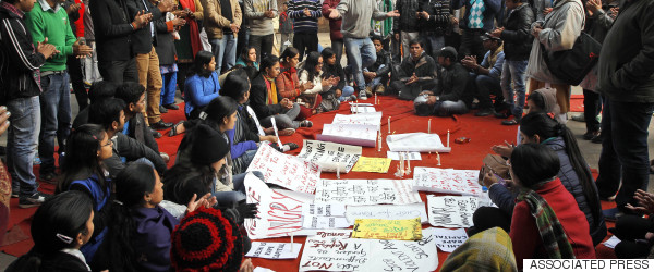 delhi gang rape protests