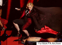 Giorgio Armani Blames 'Difficult' Madonna For Her Brits Fall