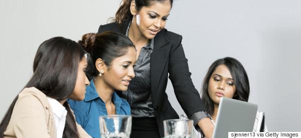 indian workplace women modern