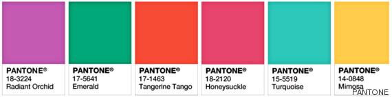 colores del año