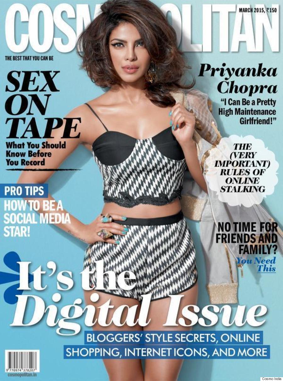 Priyanka Chopra Total Bombshell Cover