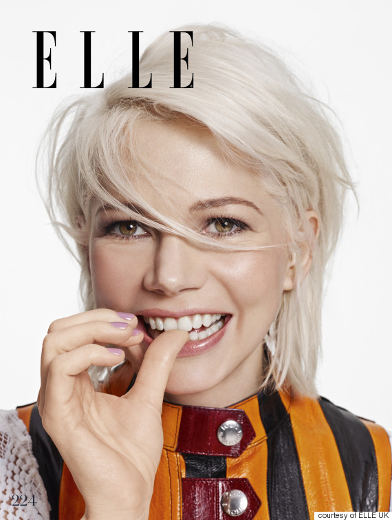 See Michelle Williams' full photo shoot and interview in the April ... Michelle Williams