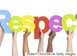 Respect -- It's Earned, Not Given. What Hogwash!