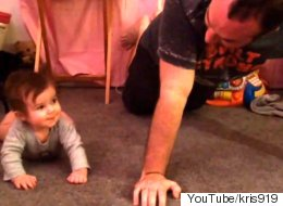 Dad Teaches Baby To Surf, And She Instantly Becomes A Pro