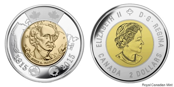 two headed toonie