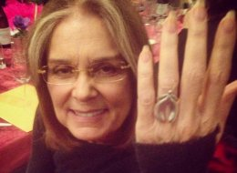 Gloria Steinem Wears A Clit Ring Like A Boss