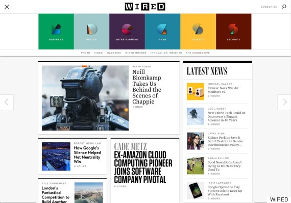 The New Wired.com Is Here: Why It Took 8 Years For A Redesign And ...