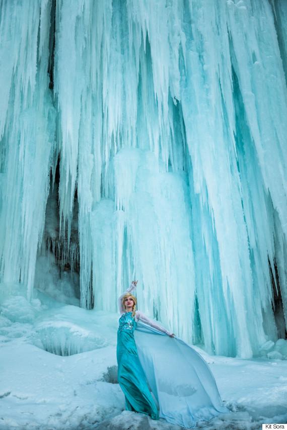 middle cove frozen elsa