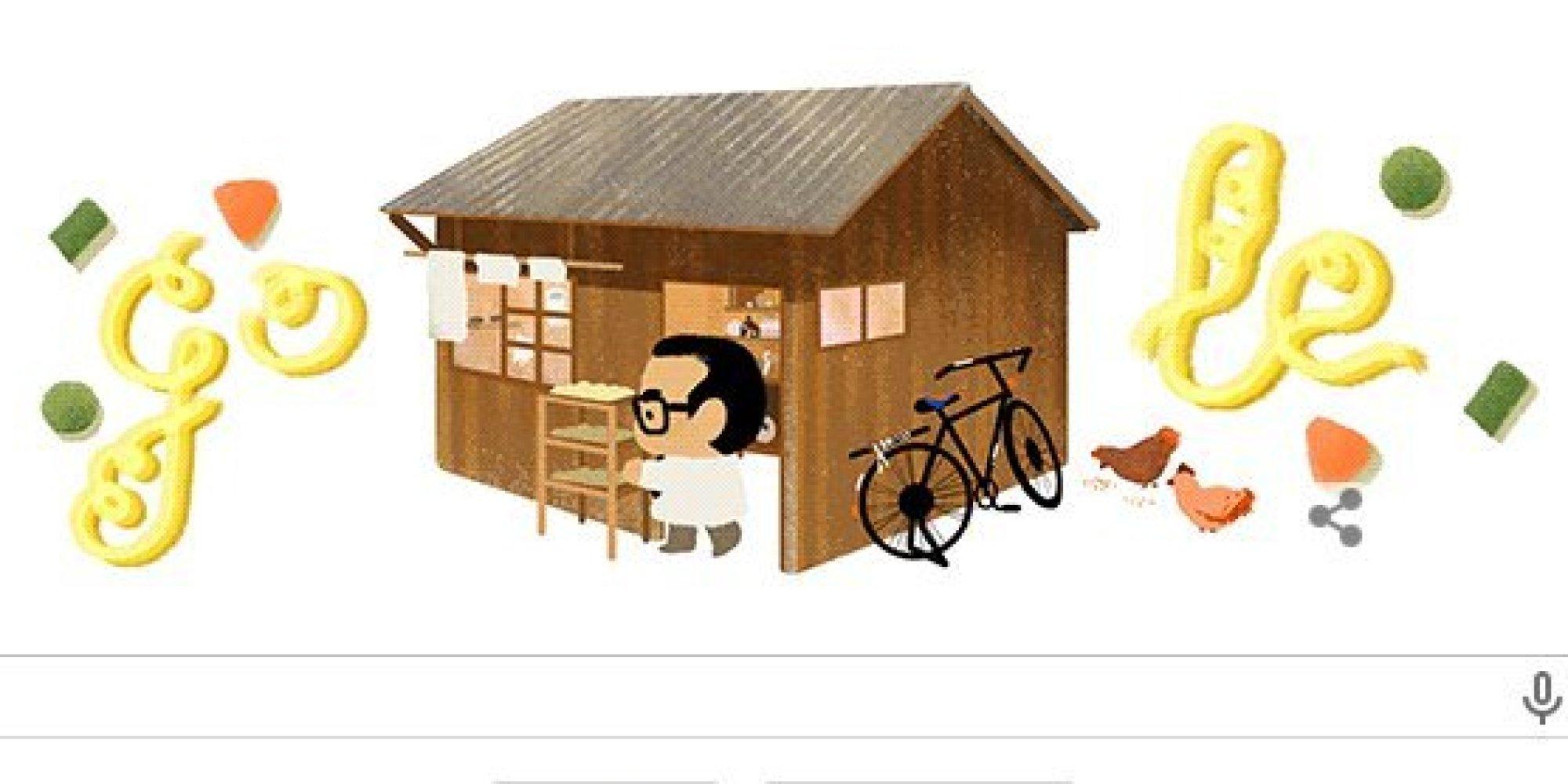 安藤百福さん、Googleロゴに「人生に遅すぎるということはない」 シェア  安藤百福さん、Go