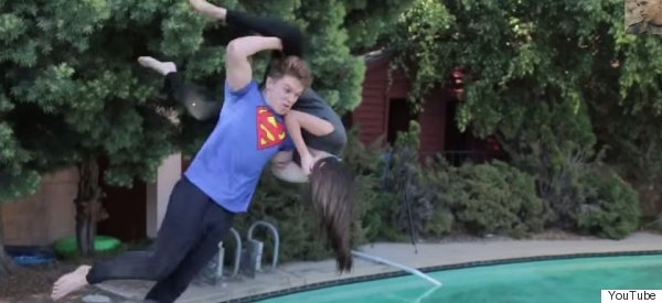 Guy Performs WWE Moves On Girls.. With Brilliant Results