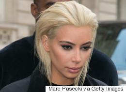 Kim K Just Unveiled A Platinum Blonde Dye Job
