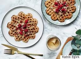 An Amazing Gluten Free Buckwheat Waffles Recipe