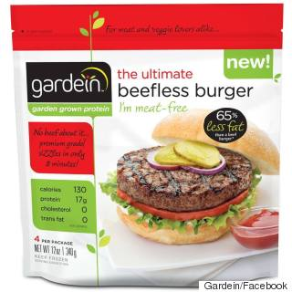 Store Bought Beefless Burger by Gardein