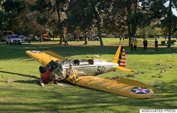 Harrison Ford's plane crash was caused by a faulty carburetor ...