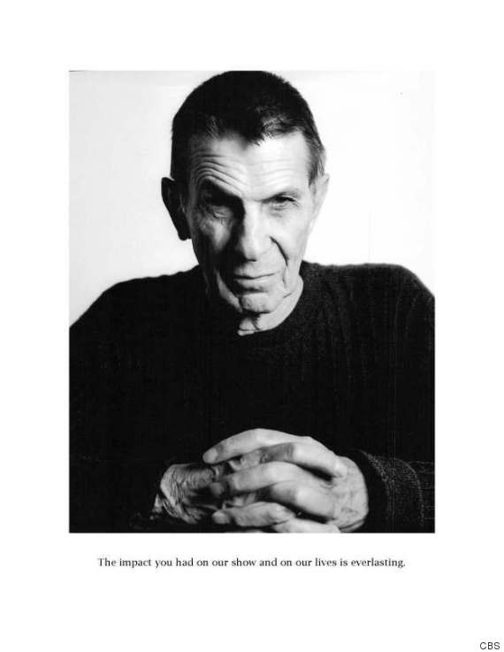 O BIG BANG THEORY LEONARD NIMOY 570