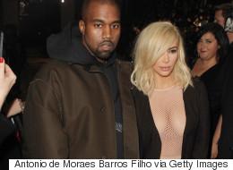Kim Forgets Her Bra At Paris Fashion Week