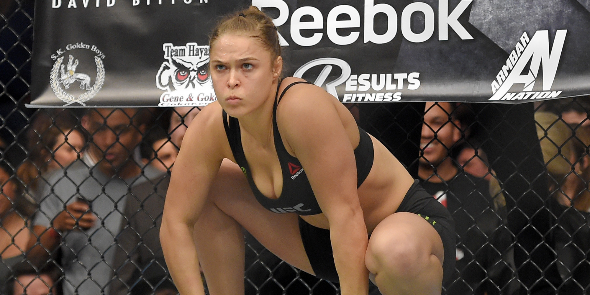 How Much Does Ronda Rousey Bench Ronda Rousey Says She Could Beat 100 Percent Of Men In