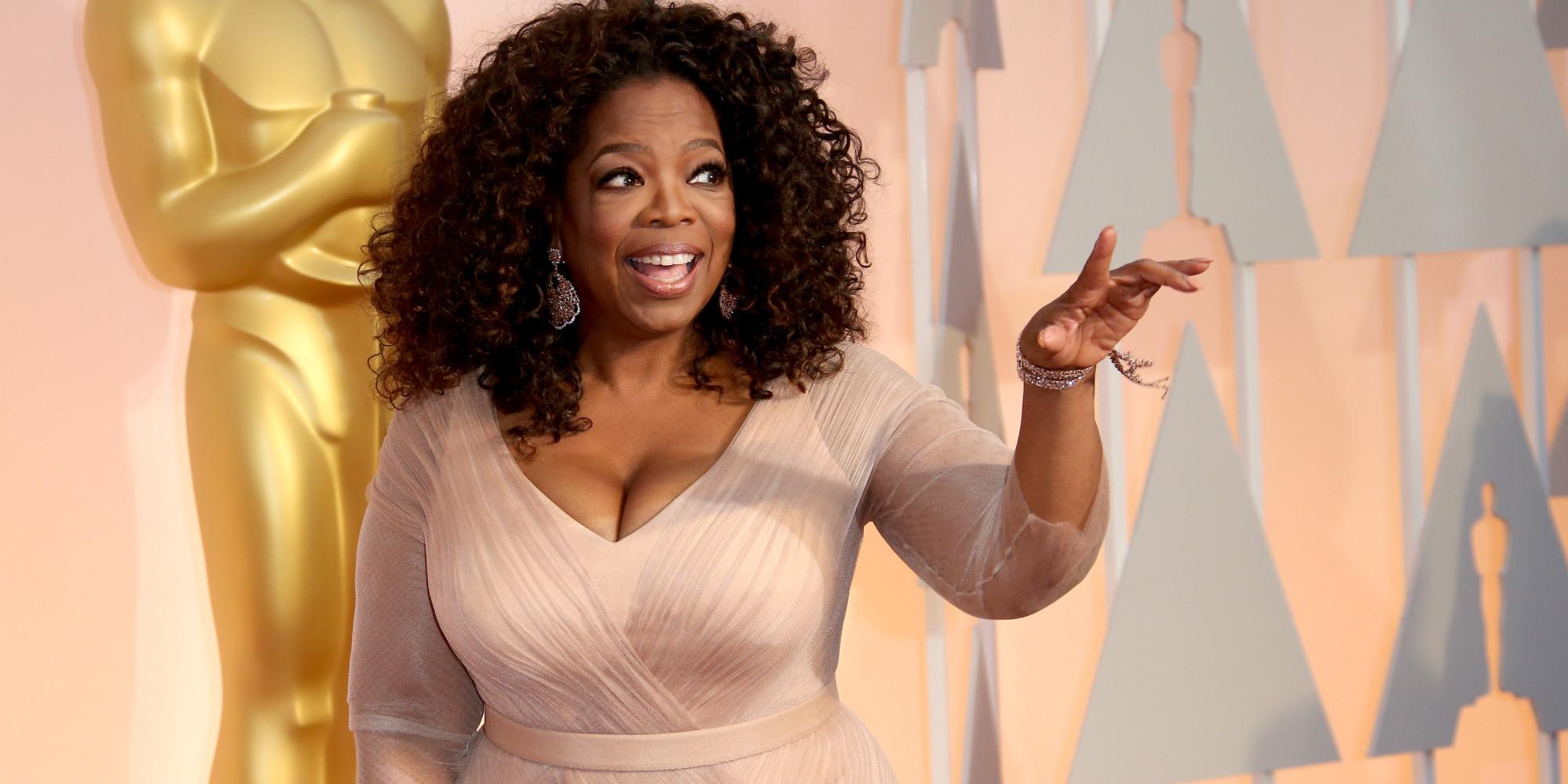 Oprah Winfrey molesta porque piensen que es gay