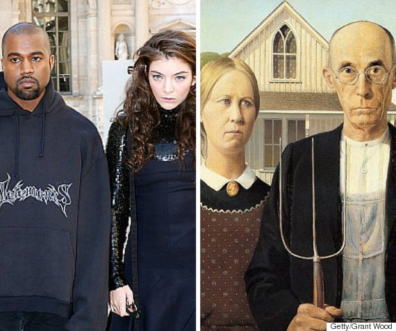 Kanye Lorde Got Photographed Together Like A Modern Day American