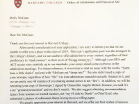 somebody give this high schooler an award for her fake harvard rejection letter huffpost
