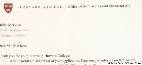 That Harvard Rejection Letter Is Fake, But Still Really, Really, Funny