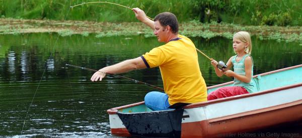 Histoire de pêche père-fille