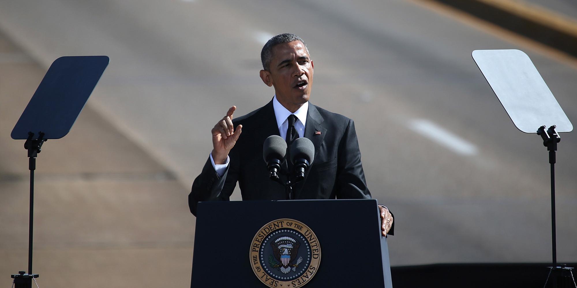 Read The Full Transcript Of Obama's Powerful Speech In ...