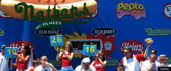 NATHANS EATING CONTEST
