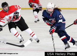 U.S. Women's Hockey Team Heads Into Semifinals at Worlds, With Eyes On Canada