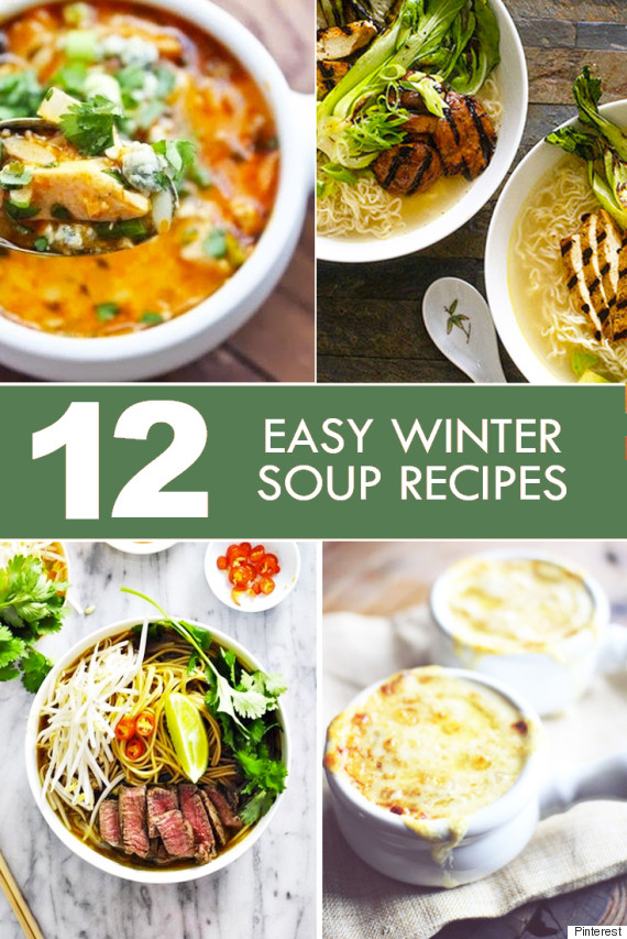 winter soup recipes 12 easy and tasty meals