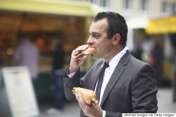 unhealthy man