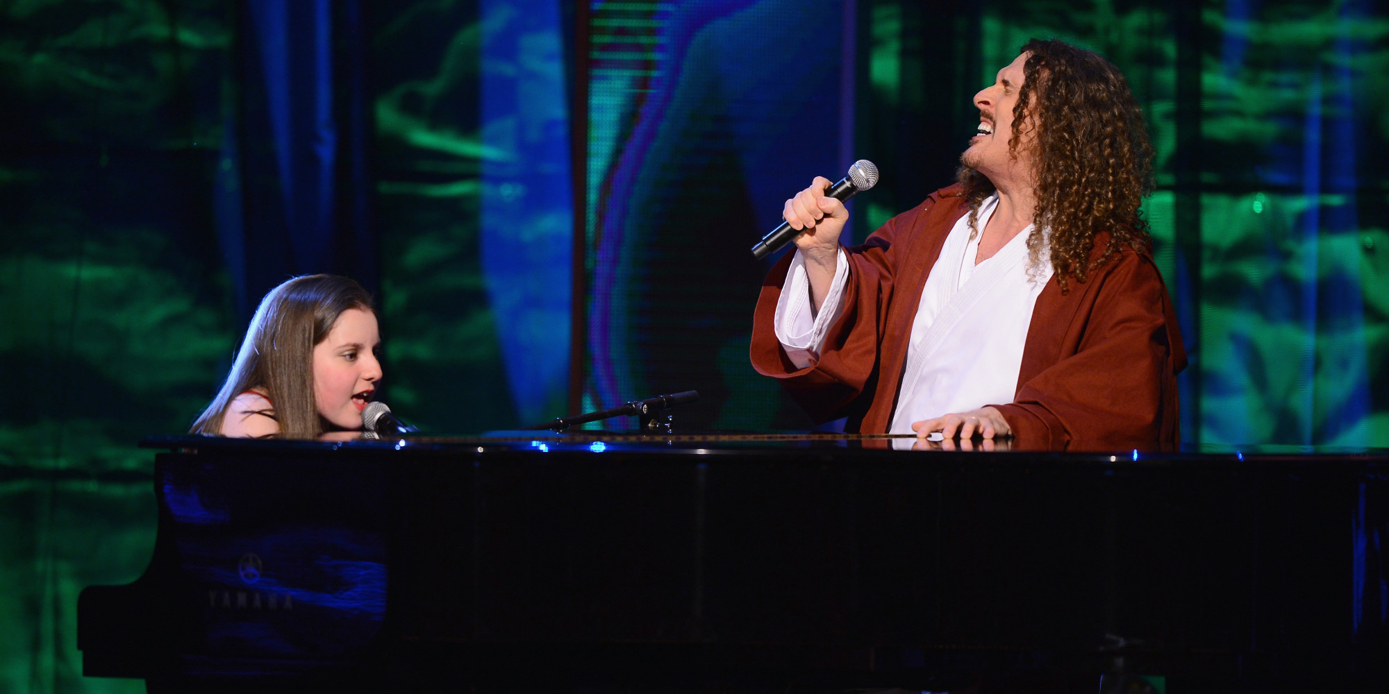 weird al yankovic pictures videos breaking news weird al s performance autistic children s choir is a tearjerker