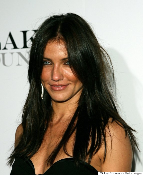 Cameron Diaz Is A Brunette Now | HuffPost