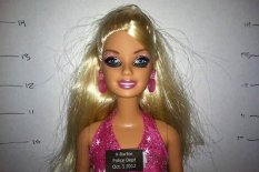 Barbie doll behaving badly | Pic: Coded.com