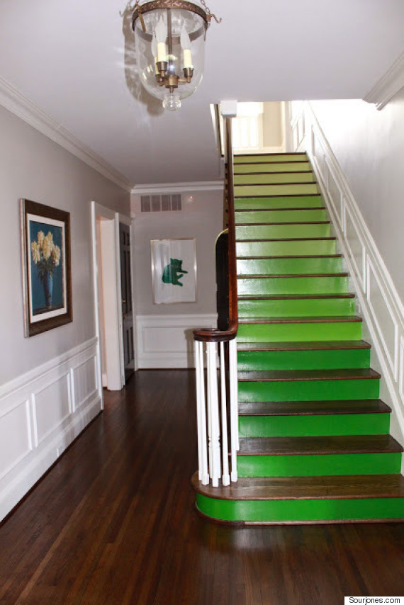 ombre staircase