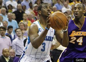 Chris Paul Hornets Lakers