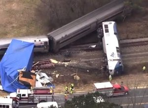 Amtrak derails in NC