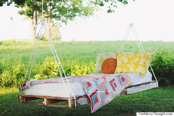 pallett bed