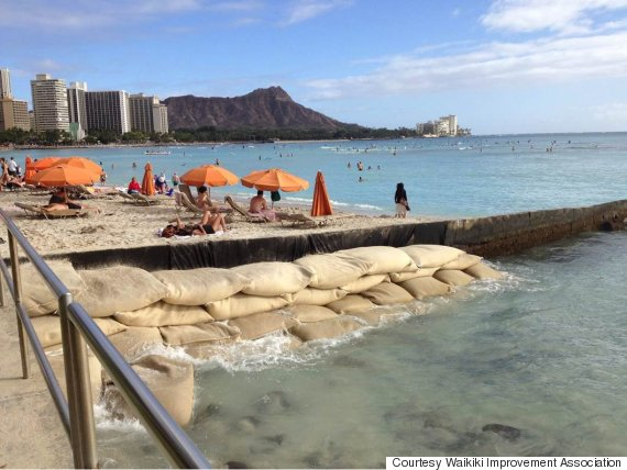 Waikiki Beach Is Totally Man-Made (And Disappearing). Can