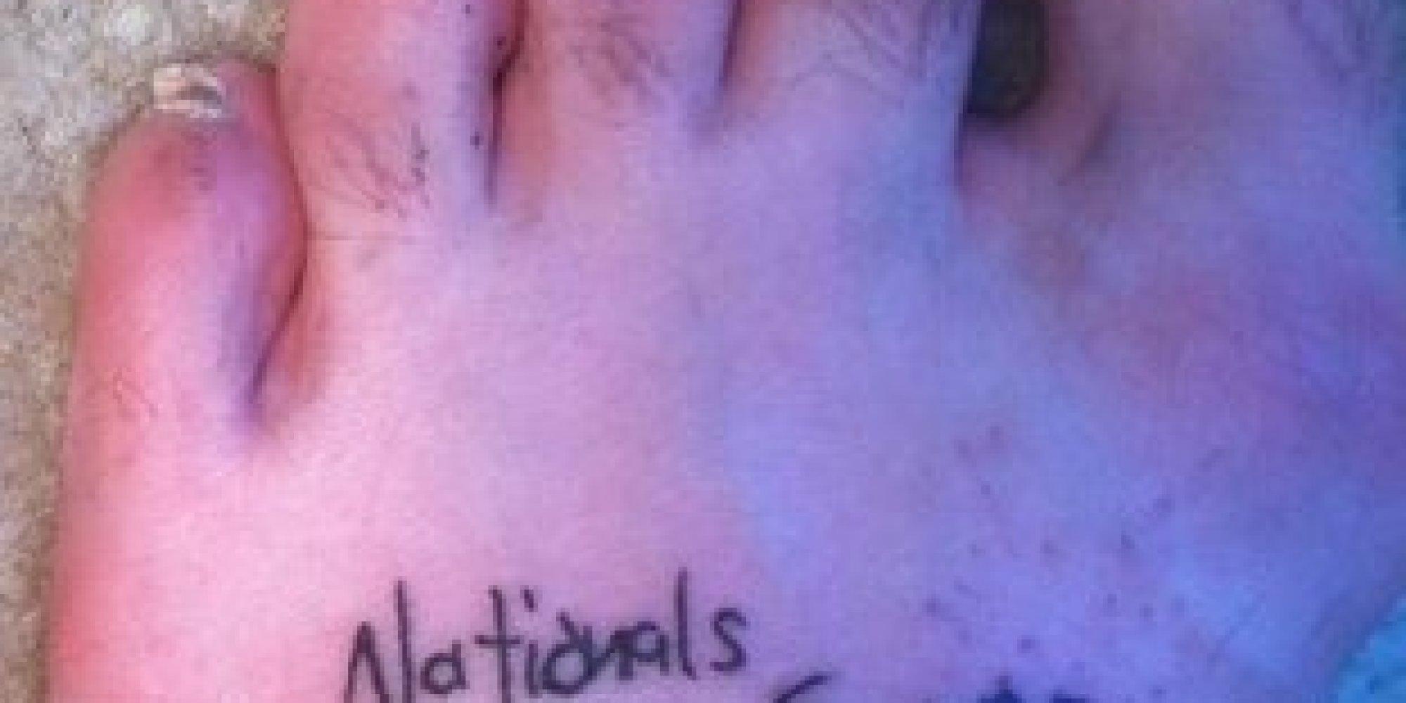 Extremely optimistic guy gets 39 washington nationals world for World series tattoo