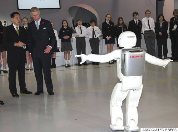 A Brief History Of World Leaders Greeting A Japanese Robot
