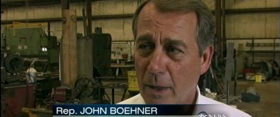 JOHN BOEHNER OIL COMPANY TAX BREAKS